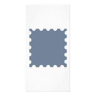 Grey stamp photo cards