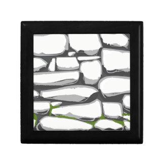 Grey Stone Wall Gift Box