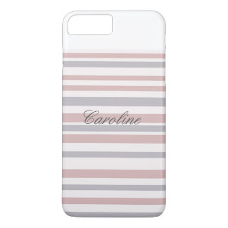 Grey Striped Phone Case