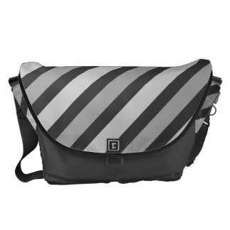 Grey Stripes Commuter Bags