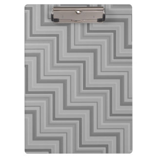 Grey stripes stairs pattern clipboard