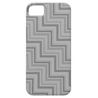 Grey stripes stairs pattern iPhone 5 case