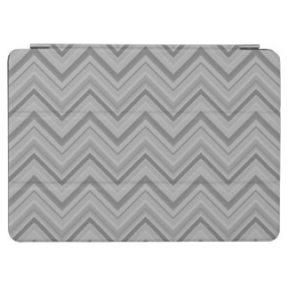 Grey stripes zigzag pattern iPad air cover