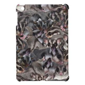 grey Sugar Glider Collage. iPad Mini Case
