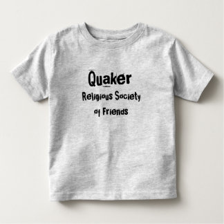 Grey T Quaker RSoF Toddler T-Shirt