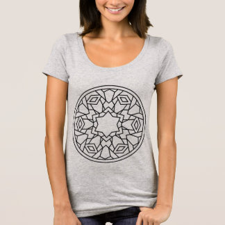 Grey t-shirt with Mandala