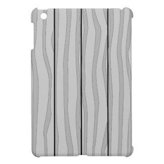 Grey Timber Background iPad Mini Cover