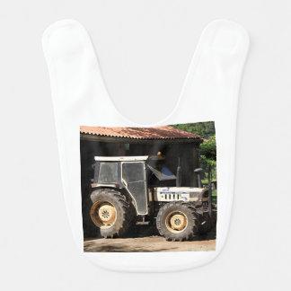 Grey tractor, El Camino, Spain Bib