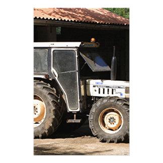 Grey tractor, El Camino, Spain Stationery