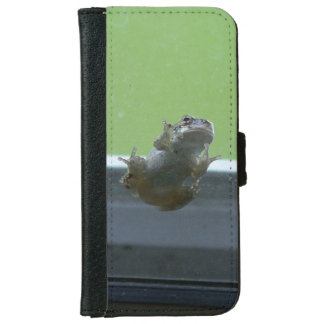 Grey Tree Frog, iPhone Wallet Case.