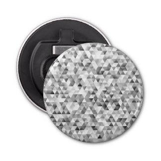 Grey triangle pattern bottle opener