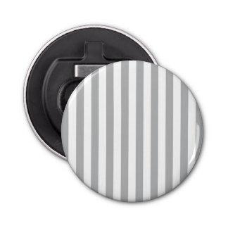 Grey Vertical Stripes Bottle Opener