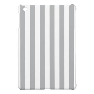 Grey Vertical Stripes Cover For The iPad Mini