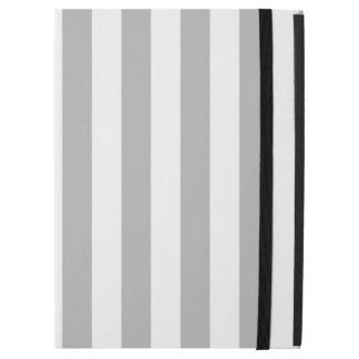 "Grey Vertical Stripes iPad Pro 12.9"" Case"