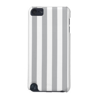 Grey Vertical Stripes iPod Touch (5th Generation) Cover