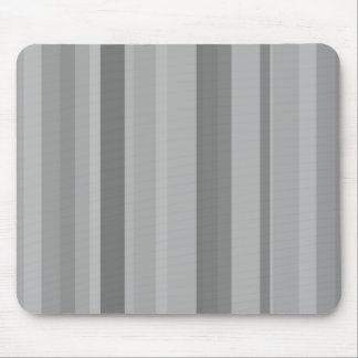 Grey vertical stripes mouse pad