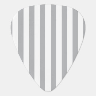 Grey Vertical Stripes Plectrum