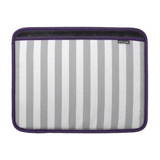 Grey Vertical Stripes Sleeve For MacBook Air