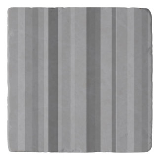Grey vertical stripes trivet