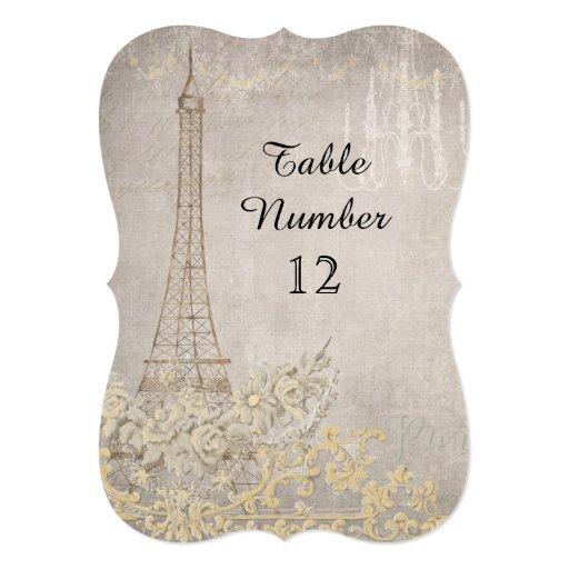 Grey vintage paris parisian reception table number 13 cm x for 13 a table paris