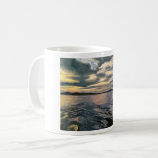 """Grey Waves"" Mug"