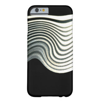 Grey White Lines iPhone 6/6s Case