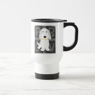 Grey & White PBGV Mugs