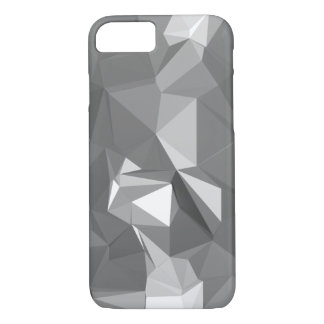 Grey-White Poly iPhone 7 Case