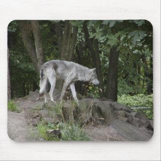 Grey Wolf Mousepad #2