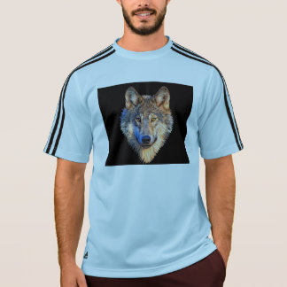 Grey wolf - wolf face T-Shirt