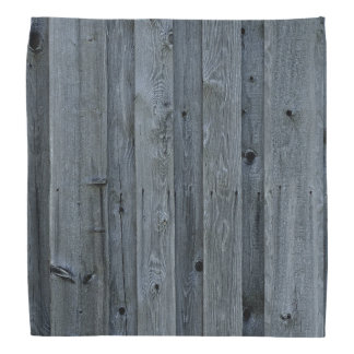 Grey Wood Wall Texture Bandana