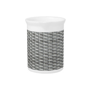 Grey woven webbing background pitcher