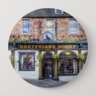 Greyfriars Bobby Pub Edinburgh 10 Cm Round Badge