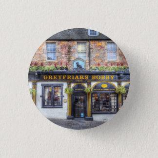Greyfriars Bobby Pub Edinburgh 3 Cm Round Badge