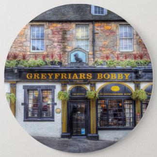 Greyfriars Bobby Pub Edinburgh 6 Cm Round Badge