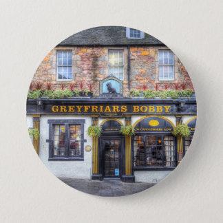 Greyfriars Bobby Pub Edinburgh 7.5 Cm Round Badge