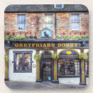 Greyfriars Bobby Pub Edinburgh Coaster