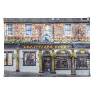 Greyfriars Bobby Pub Edinburgh Placemat