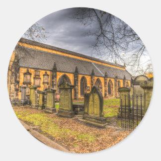 Greyfriars Kirk Church Edinburgh Round Sticker
