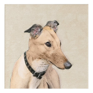 Greyhound Acrylic Wall Art