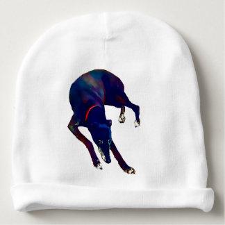 Greyhound Art Baby Beanie