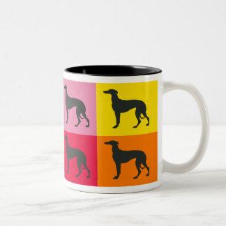 Greyhound Art Mug