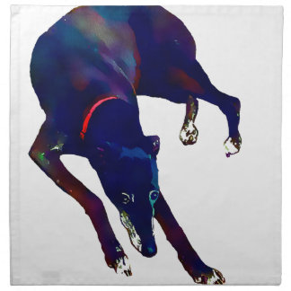 Greyhound Art Napkin