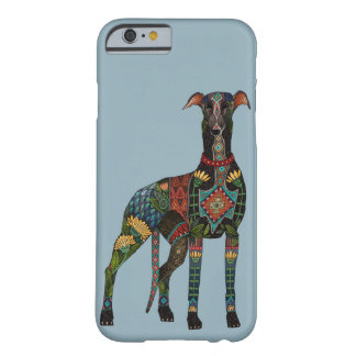 greyhound azure blue barely there iPhone 6 case