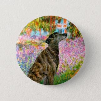 Greyhound (br2) - Garden 6 Cm Round Badge