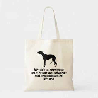 Greyhound Budget Tote Bag