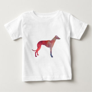 Greyhound cosmos silhouette baby T-Shirt