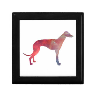 Greyhound cosmos silhouette gift box