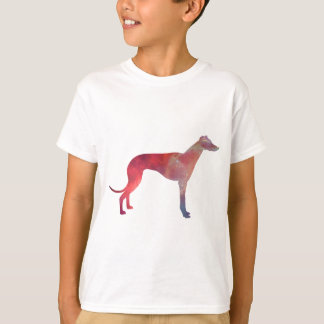 Greyhound cosmos silhouette T-Shirt