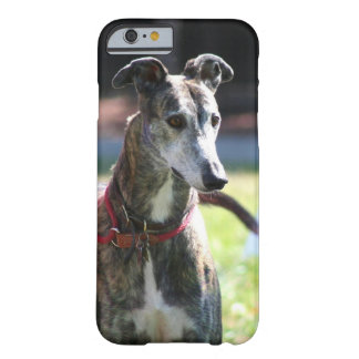 Greyhound dog barely there iPhone 6 case